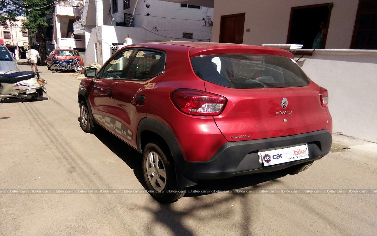 Used Renault Kwid 1 0l Rxt Optional In Hyderabad 2016