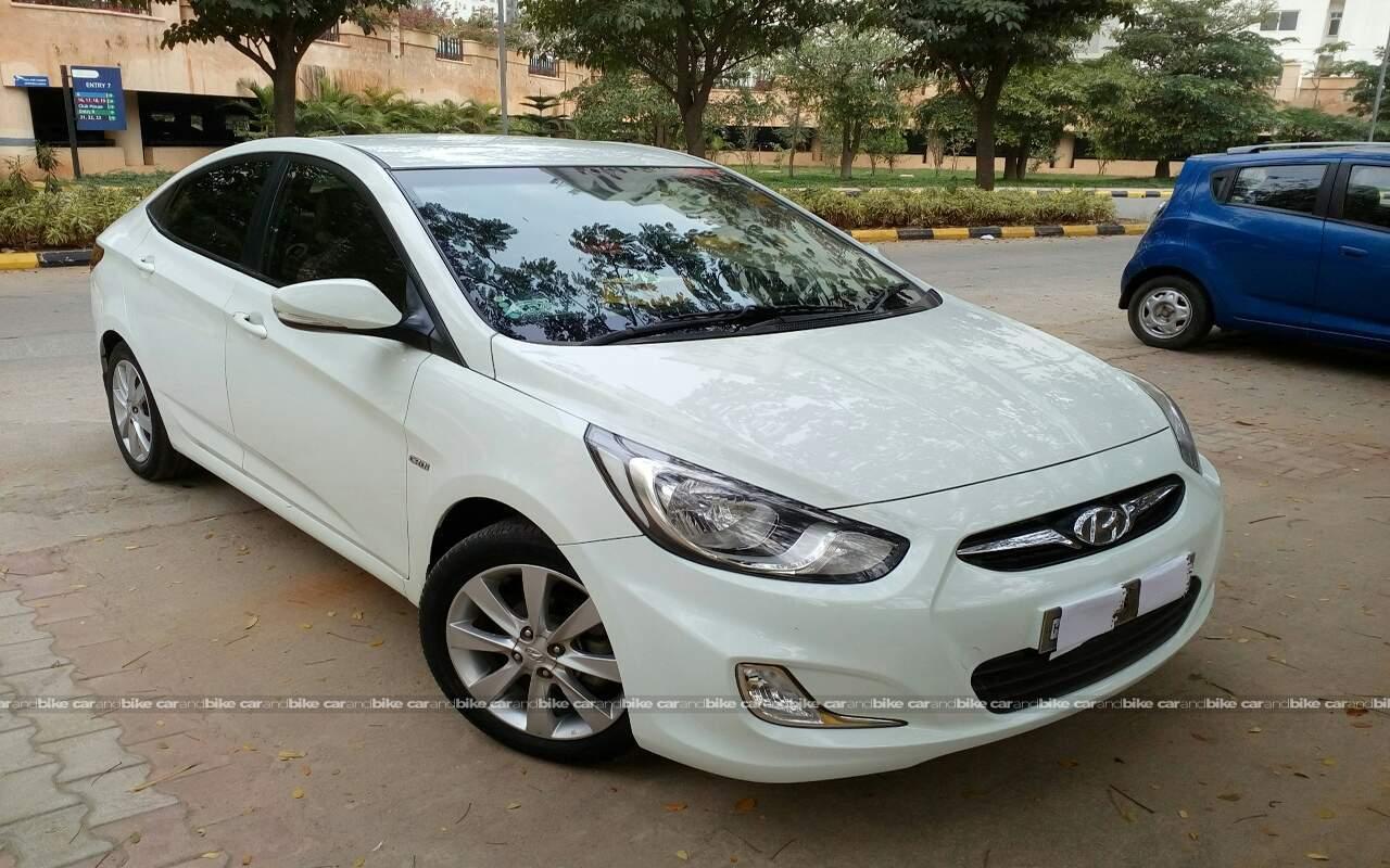 Used Hyundai Fluidic Verna 1 6 Crdi Sx In Bangalore 2012