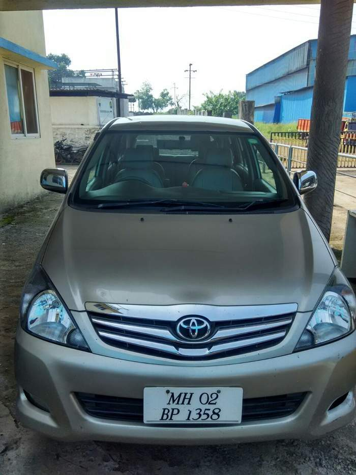Instant Auto Insurance No Down Payment >> Used Toyota Innova 2.5 V in Thane 2009 model, India at Best Price, ID 18620