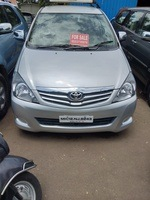 Toyota Innova Rear Left Side Angle View