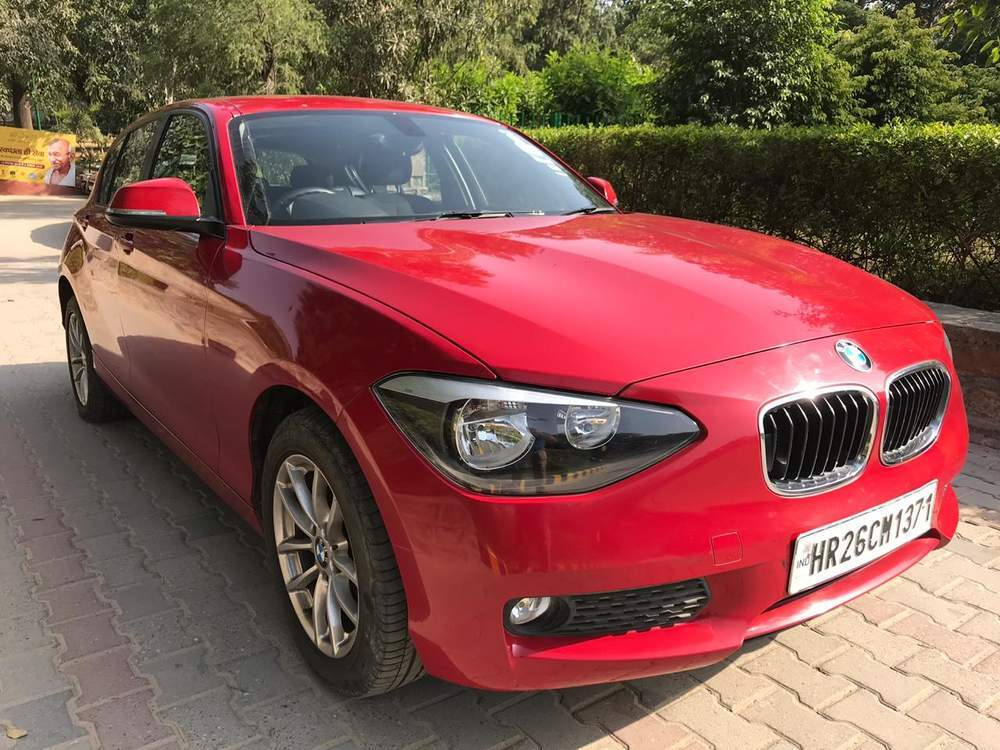 Bmw 1 Series Left Side View