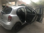 Nissan Micra Rear Left Side Angle View