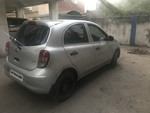 Nissan Micra Rear Right Side Angle View