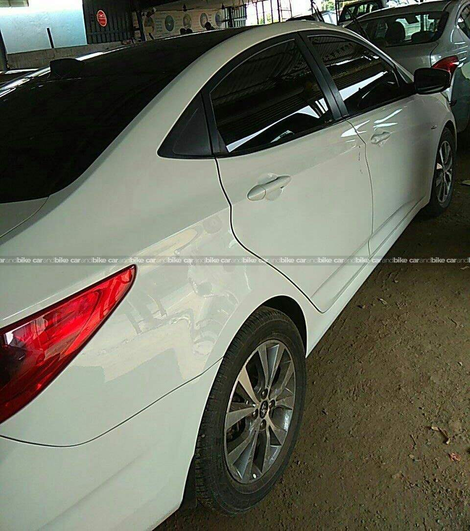 Hyundai Fluidic Verna 16 Vtvt Sx At Hood Open View