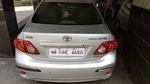 Toyota Corolla Altis Rear Left Side Angle View