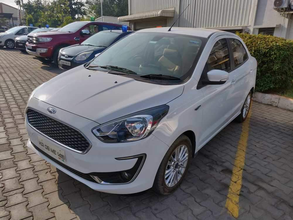 Instant Auto Insurance No Down Payment >> Used Ford Figo Aspire 1.5D Titanium Plus MT in Mysore 2018 model, India at Best Price, ID 34977