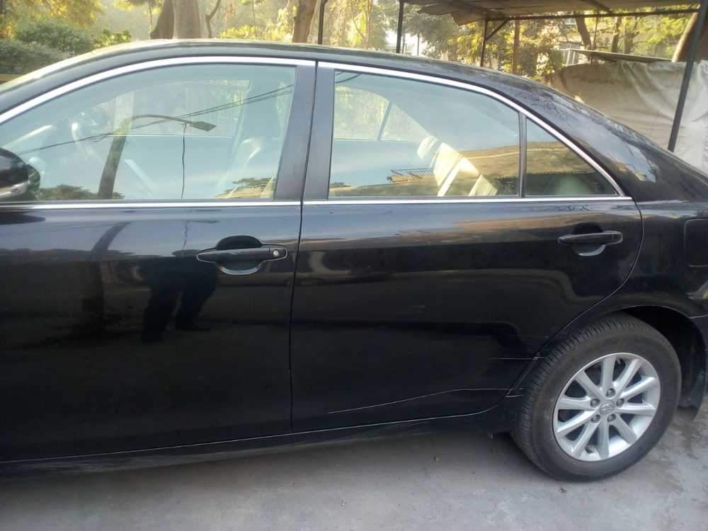Toyota Camry Rear Left Side Angle View