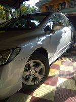 Honda Civic Front Left Rim