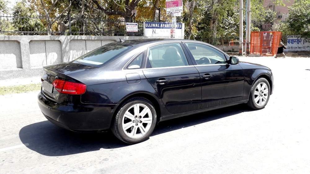 Audi A6 Front Right Side Angle View