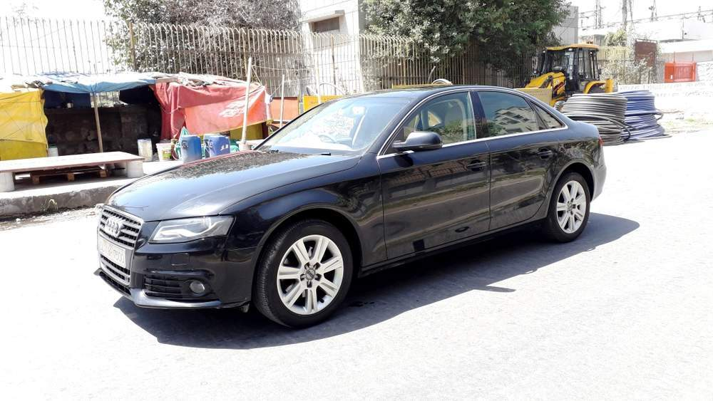 Audi A6 Left Side View