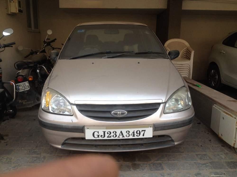 Tata Indigo Rear View