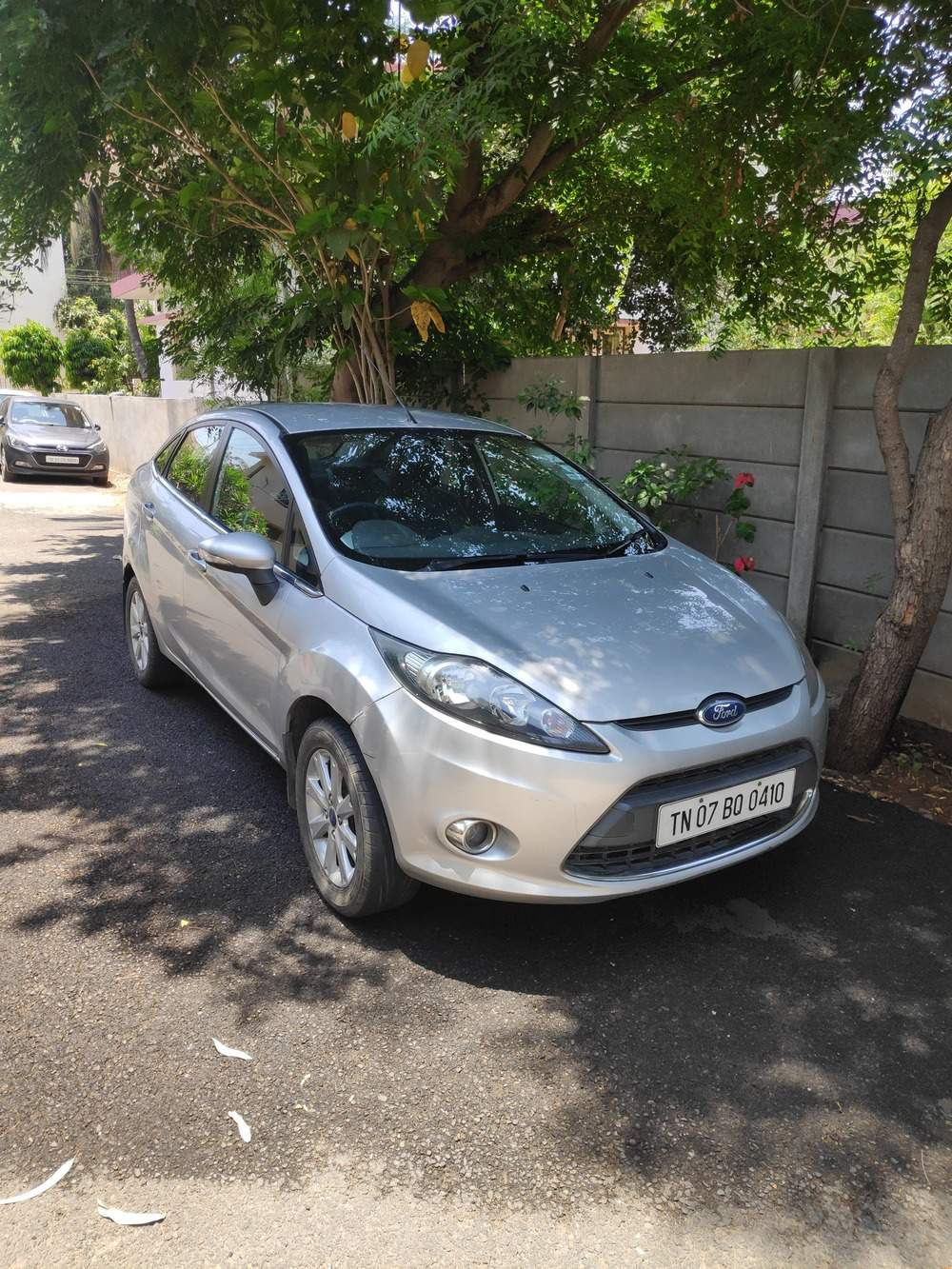 Ford Fiesta Left Side View