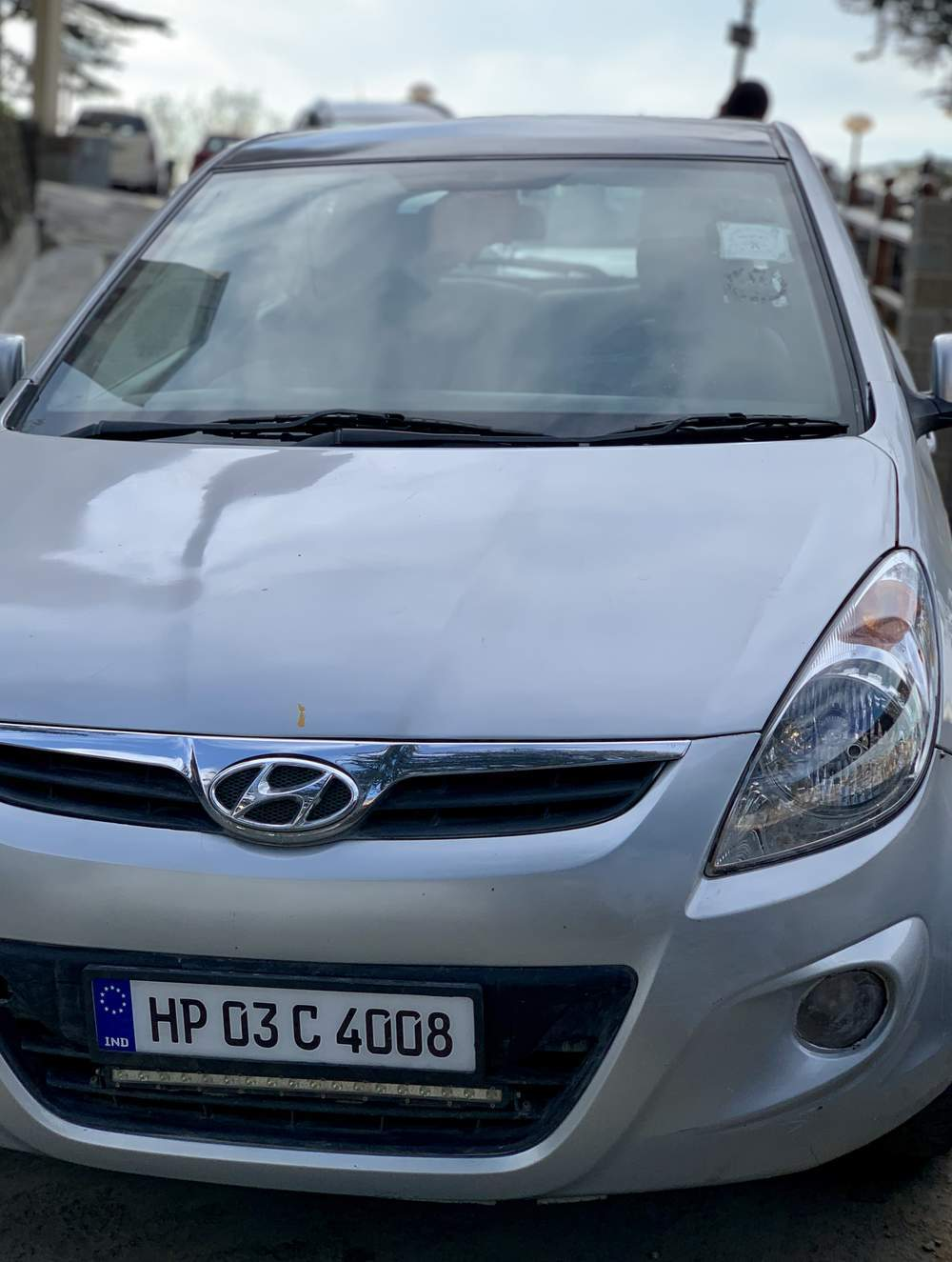 Hyundai I20  Rear Left Side Angle View
