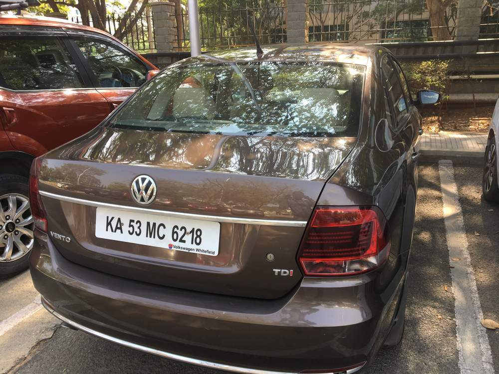 Volkswagen Vento Rear View