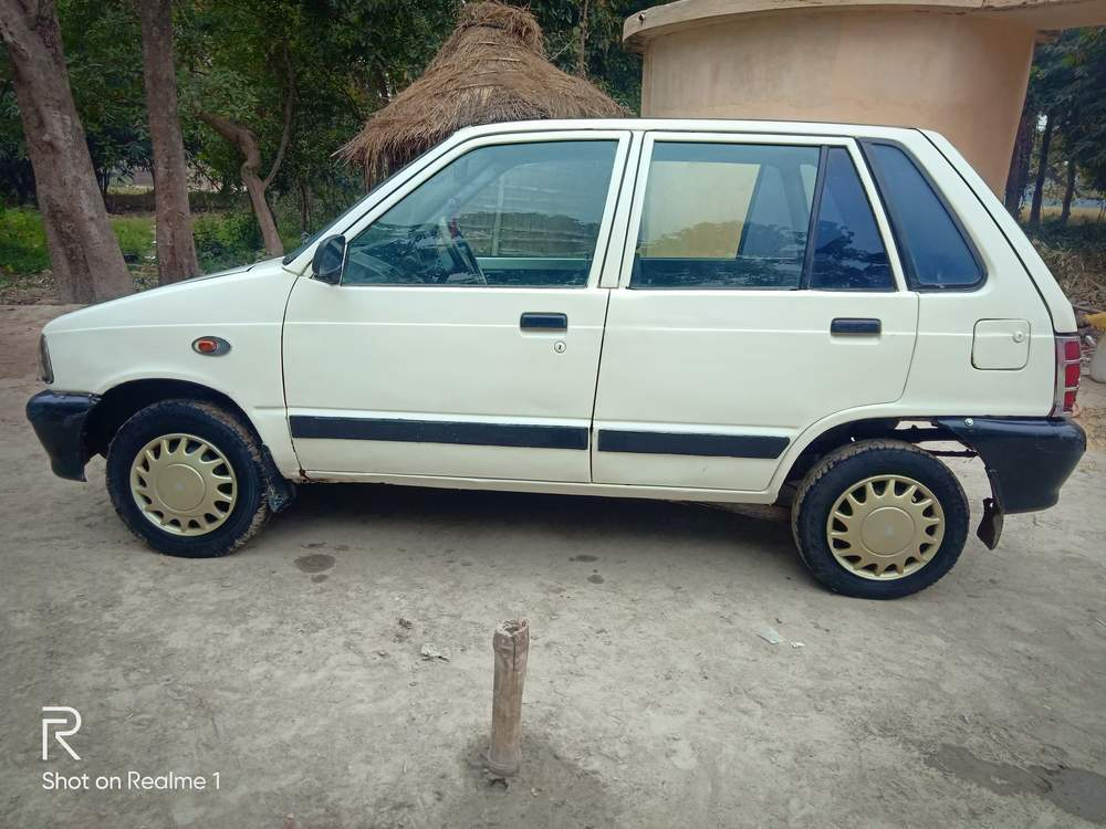 Maruti Suzuki 800 Left Side View