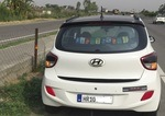 Hyundai Grand I10 Left Side View
