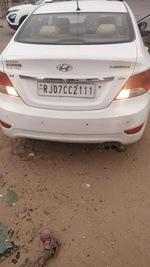 Hyundai Fluidic Verna Front Left Rim