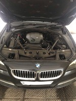 Bmw 5 Series Front Right Side Angle View
