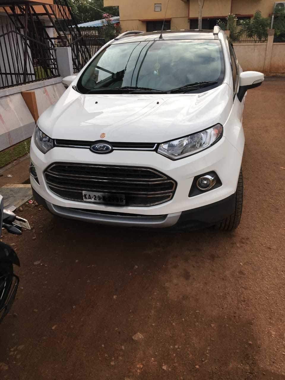 Ford Ecosport Rear Left Rim