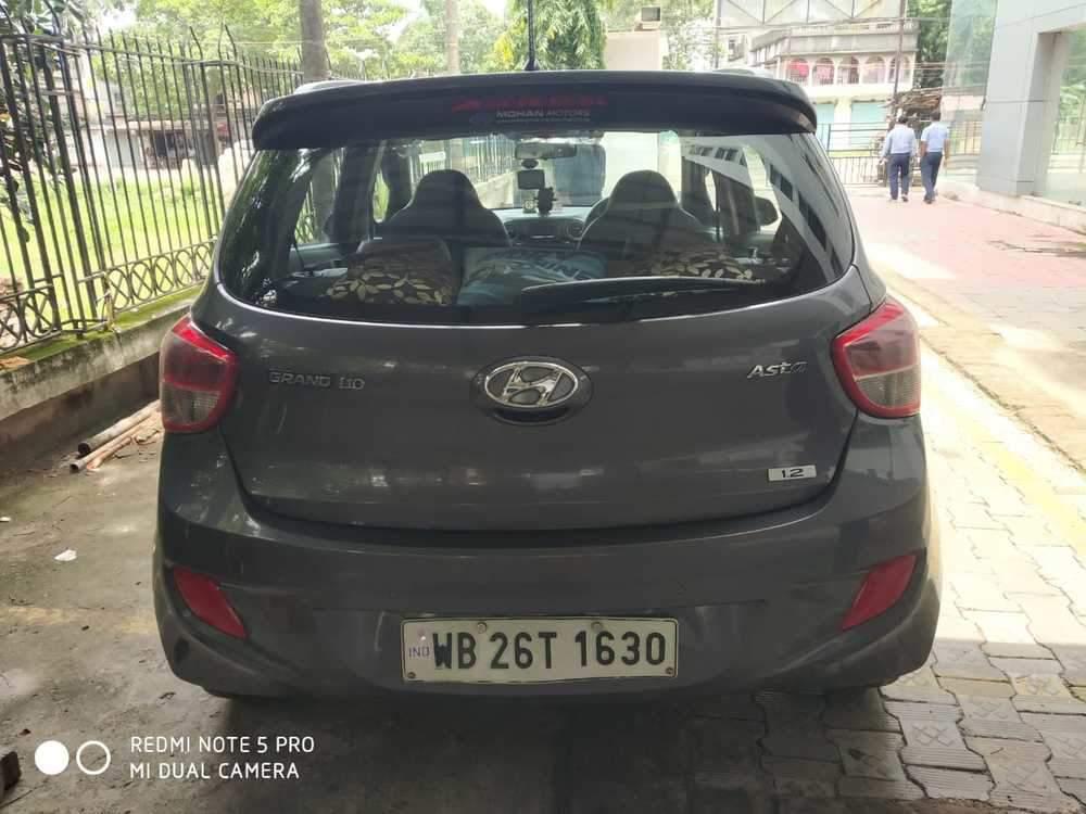 Hyundai Grand I10 Left Side View