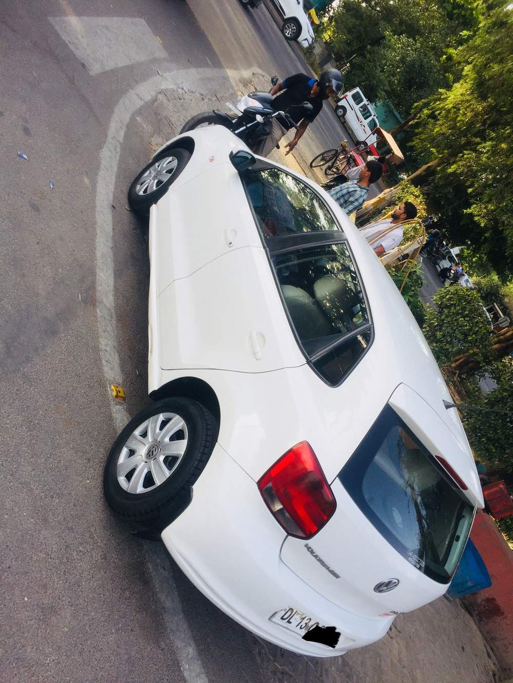 Volkswagen Polo Left Side View