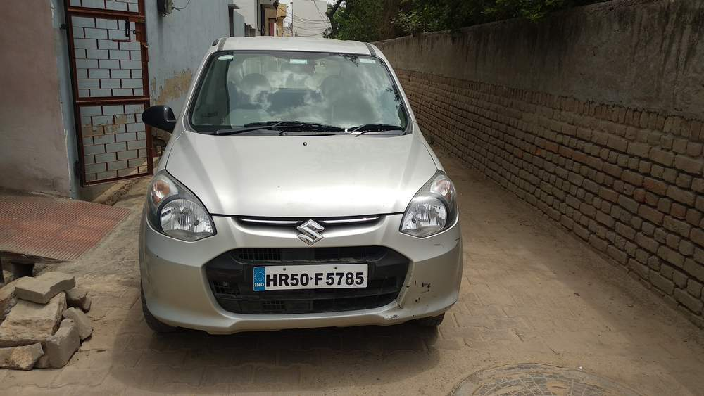 Maruti Suzuki Alto 800 Left Side View
