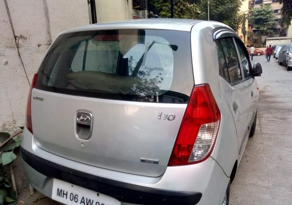 Hyundai I10 Left Side View