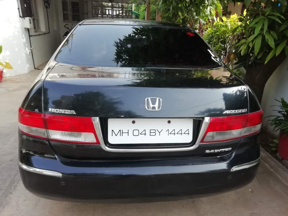 Honda Accord Rear Left Side Angle View
