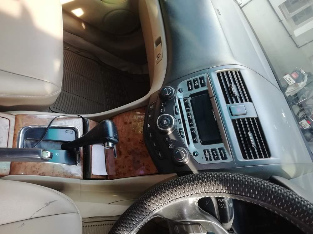 Honda Accord Rear View