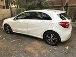 Mercedes Benz A Class Rear Left Side Angle View