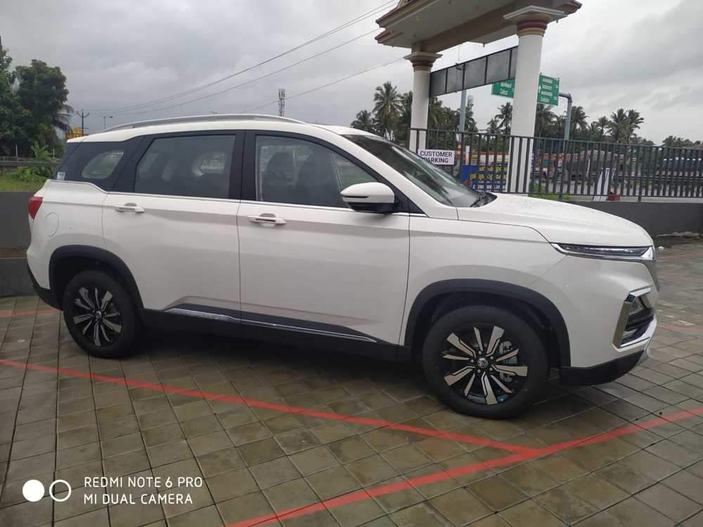Mg Hector Rear Left Rim