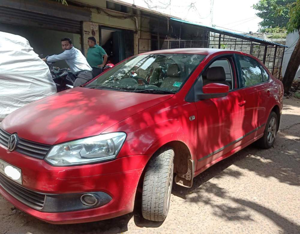Volkswagen Vento Rear Left Side Angle View