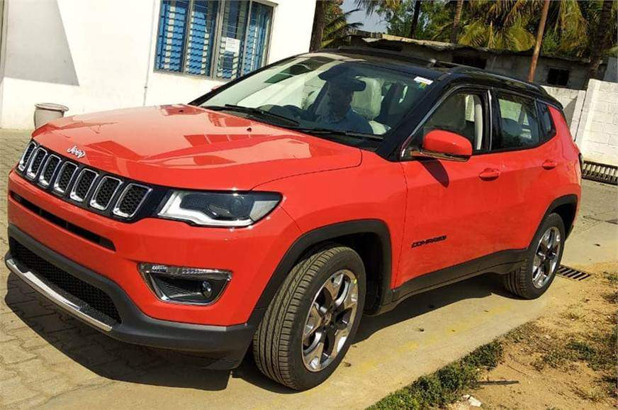 Used Jeep Compass Sport 1.4 Multi AIR Petrol BS IV in Mumbai 2019 model,  India at Best Price, ID 38463