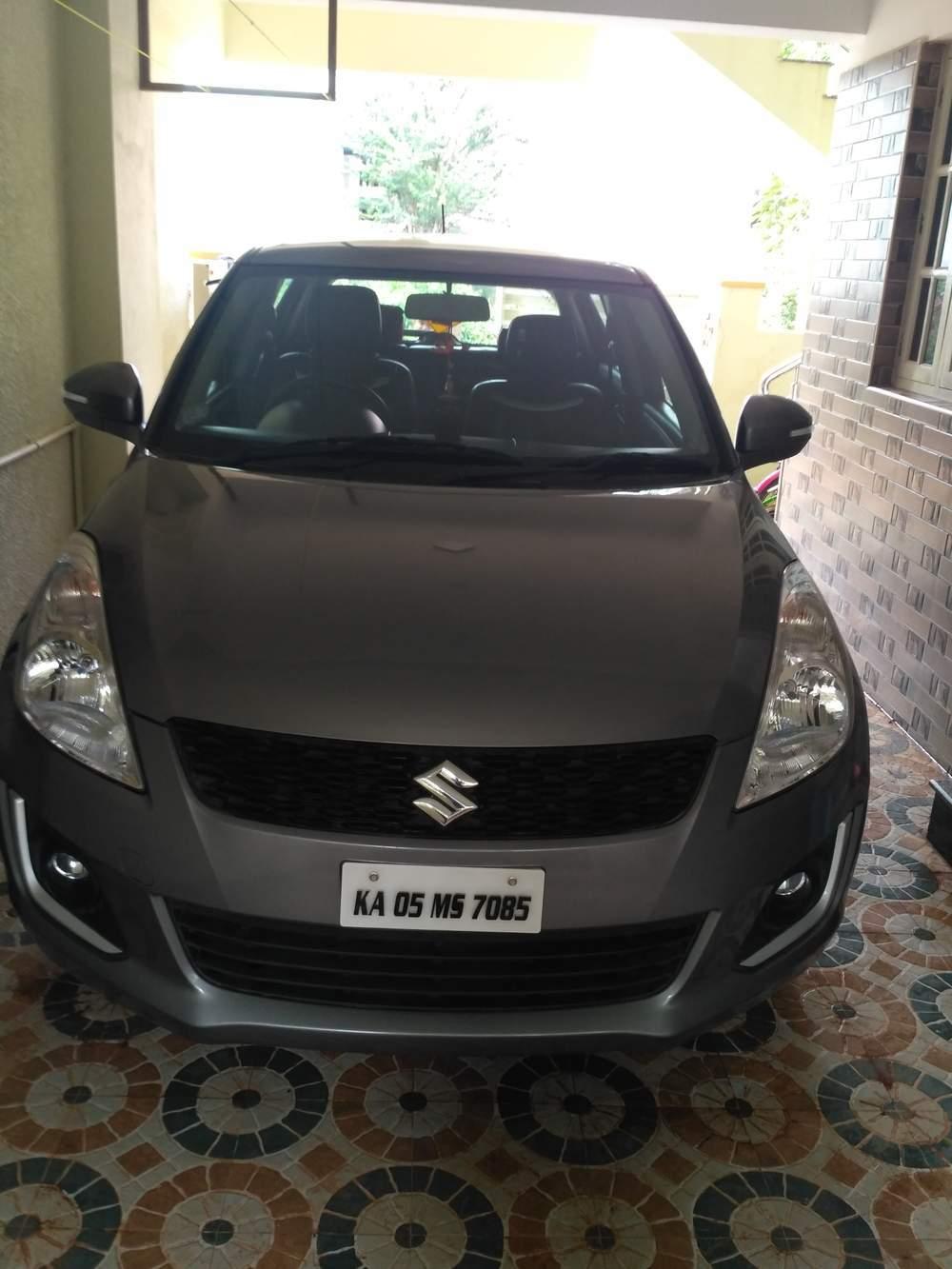 New Maruti Suzuki Swift Rear Right Side Angle View