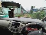Toyota Innova Rear Left Side Angle View