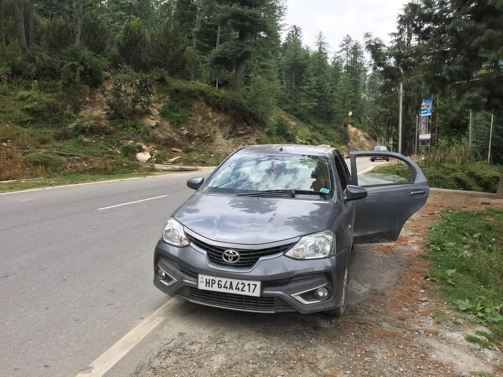 Toyota Etios Liva Front Left Rim