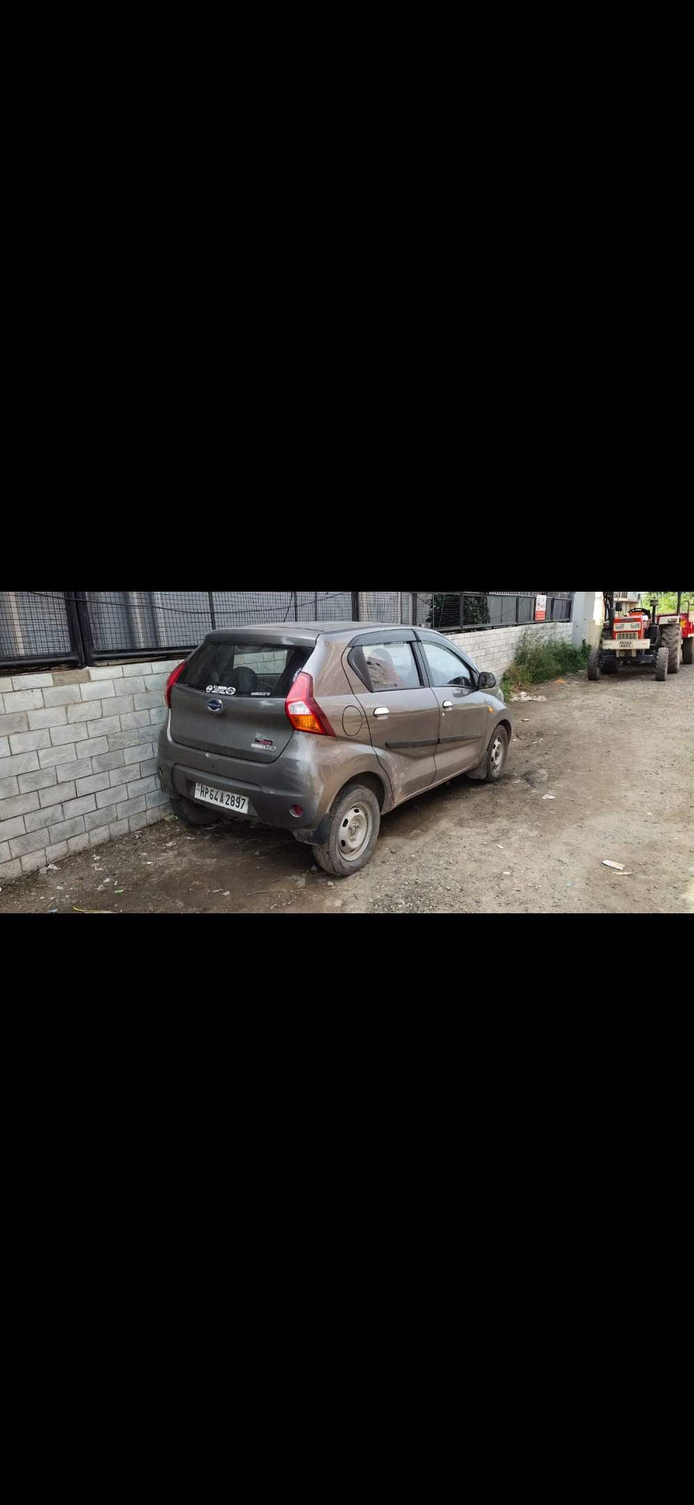 Datsun Redi Go Front Left Rim
