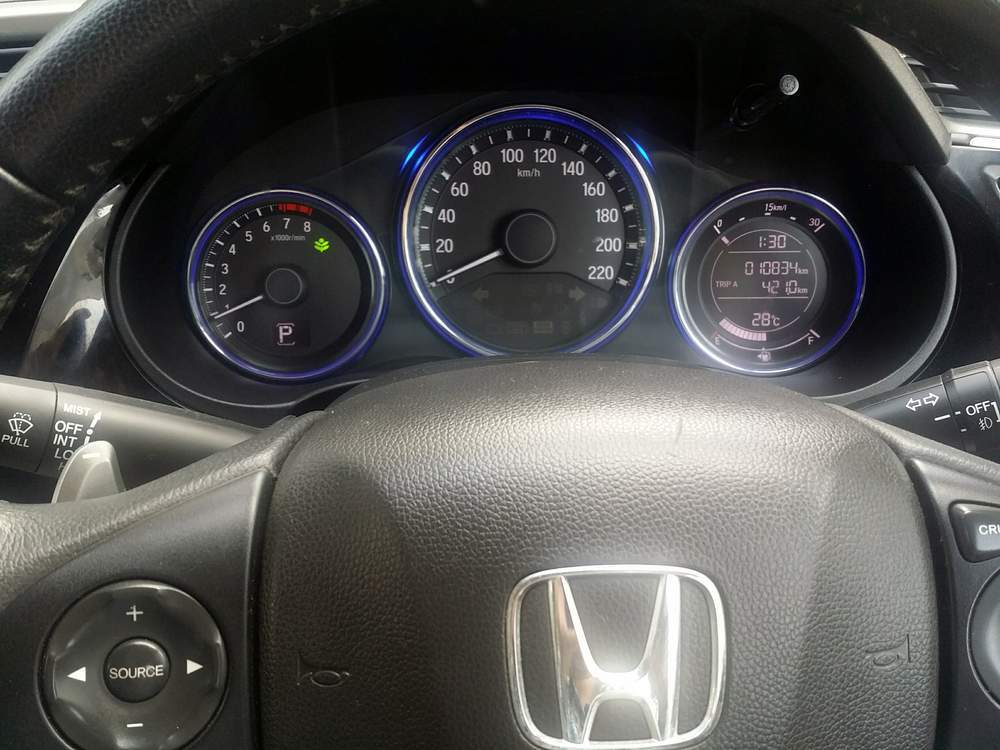 Honda City Rear View