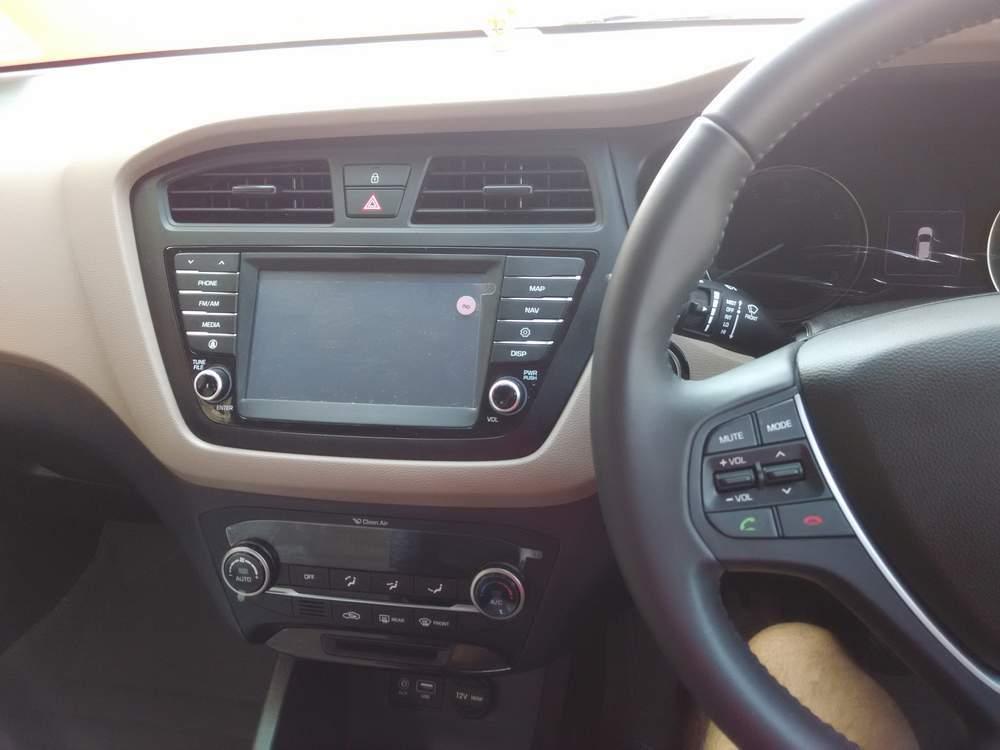 Hyundai Elite I20 Rear Left Side Angle View