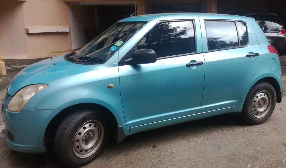 Maruti Suzuki Swift Rear View
