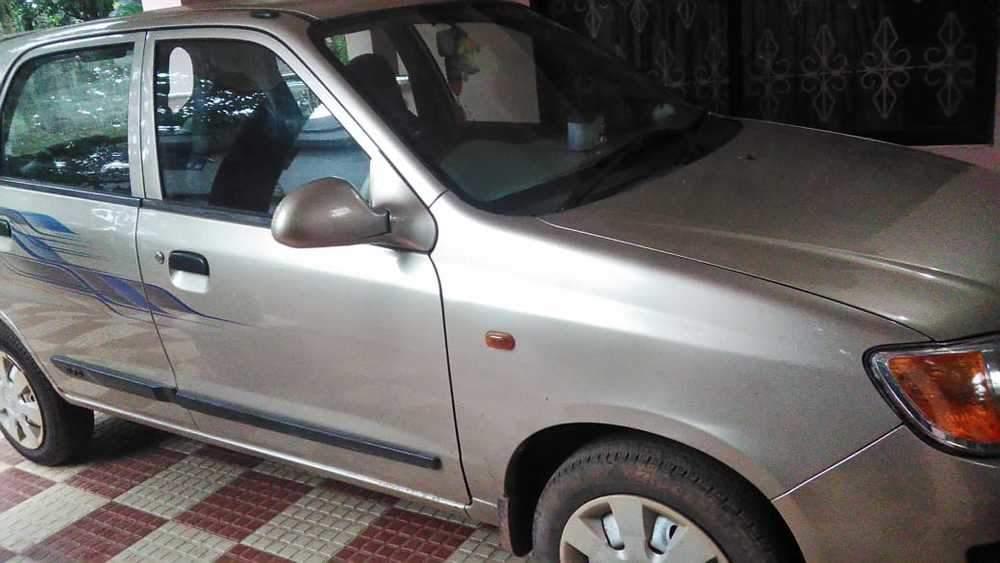 Maruti Suzuki Alto K10 Rear View