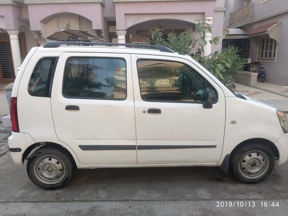 Maruti Suzuki Wagon R Left Side View