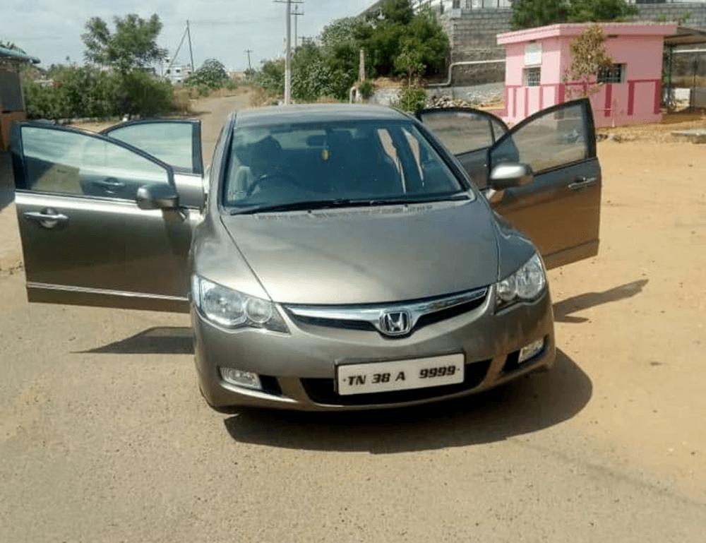 2019 Honda Civic Front Left Rim