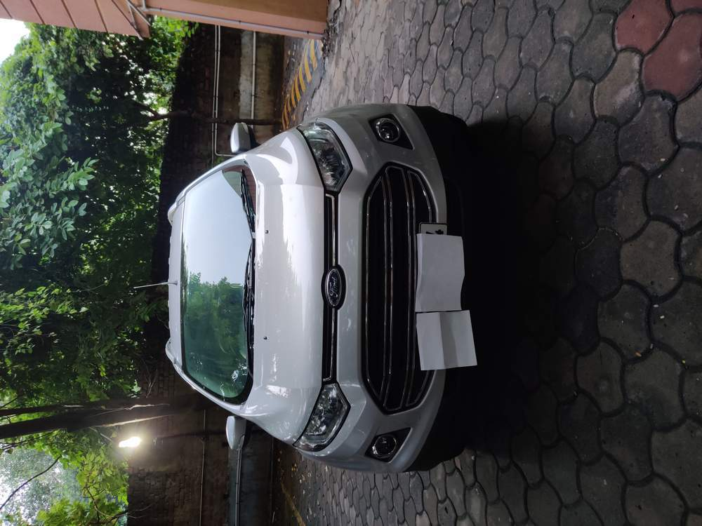 Ford Ecosport Rear Right Side Angle View