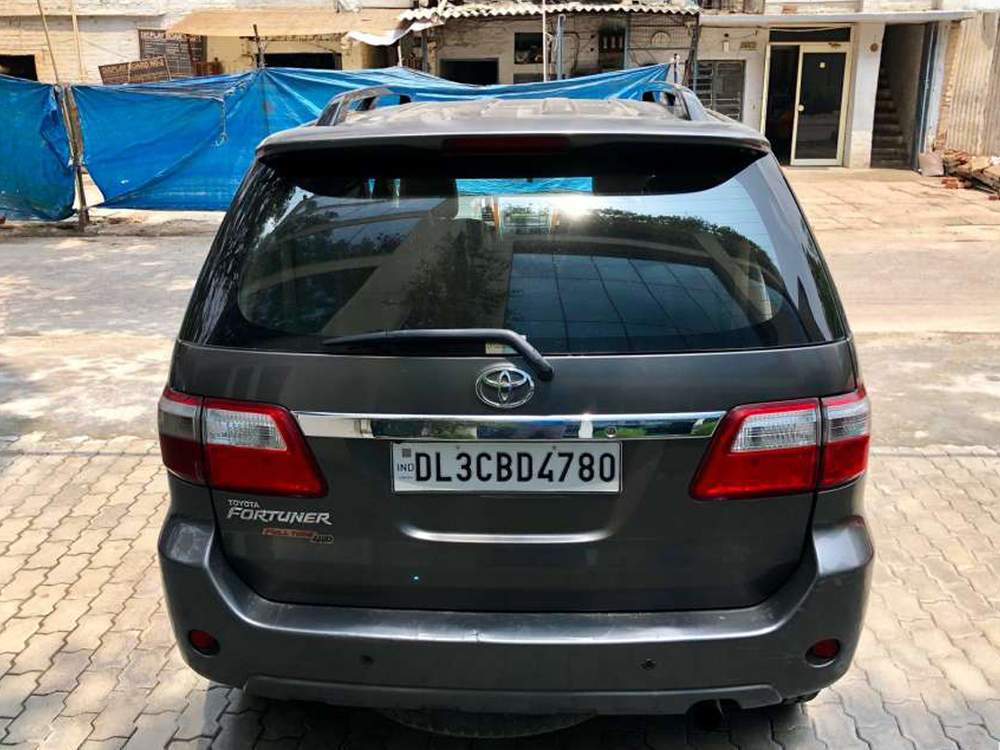 Toyota Fortuner Rear Left Side Angle View