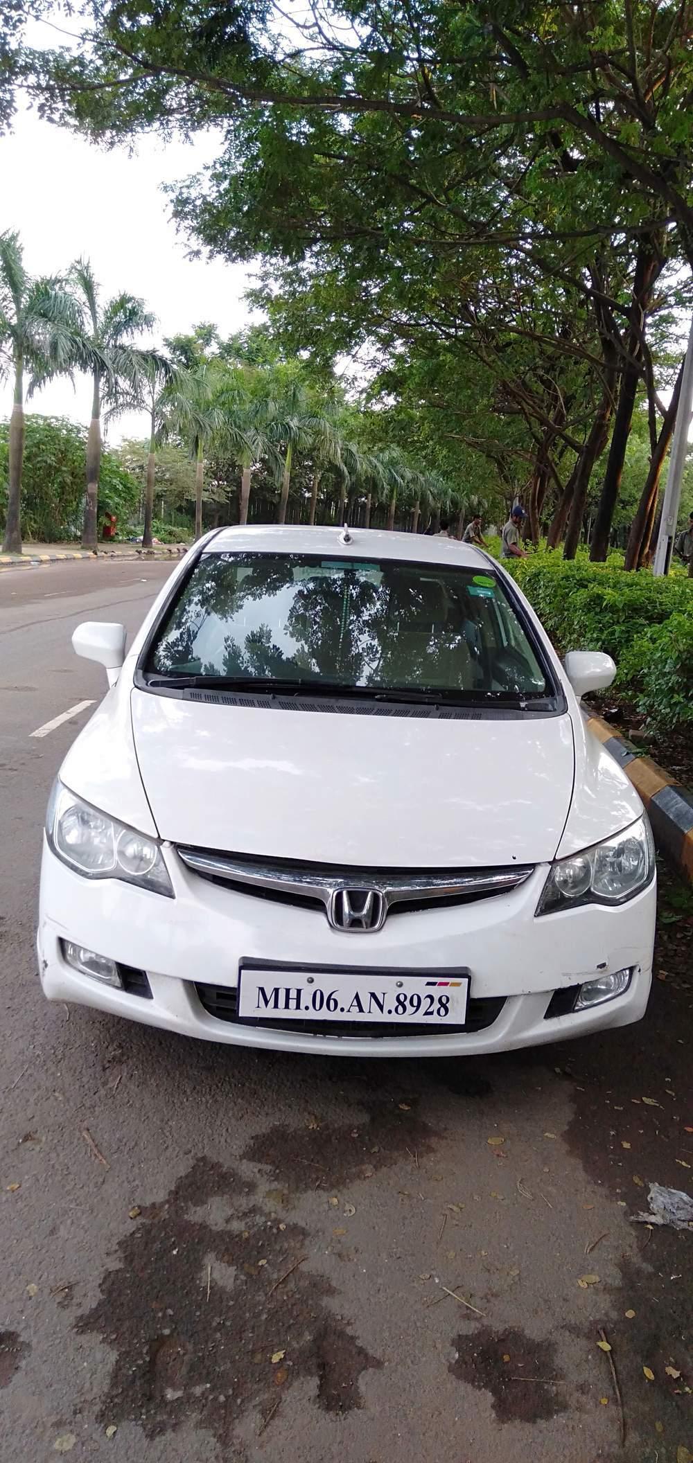 2019 Honda Civic Rear Left Side Angle View