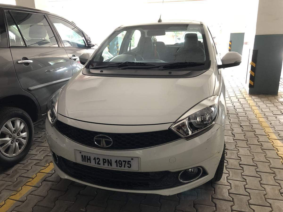 Tata Tiago Rear Left Side Angle View