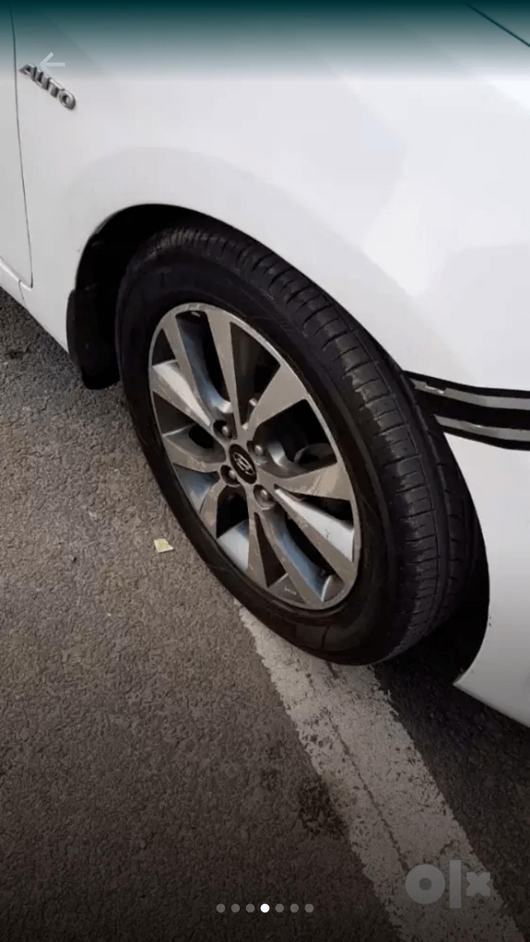 New Hyundai Verna Rear Left Side Angle View