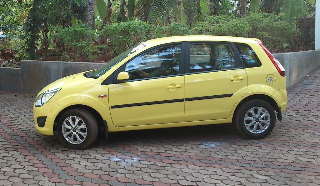 Ford Figo Front Left Rim