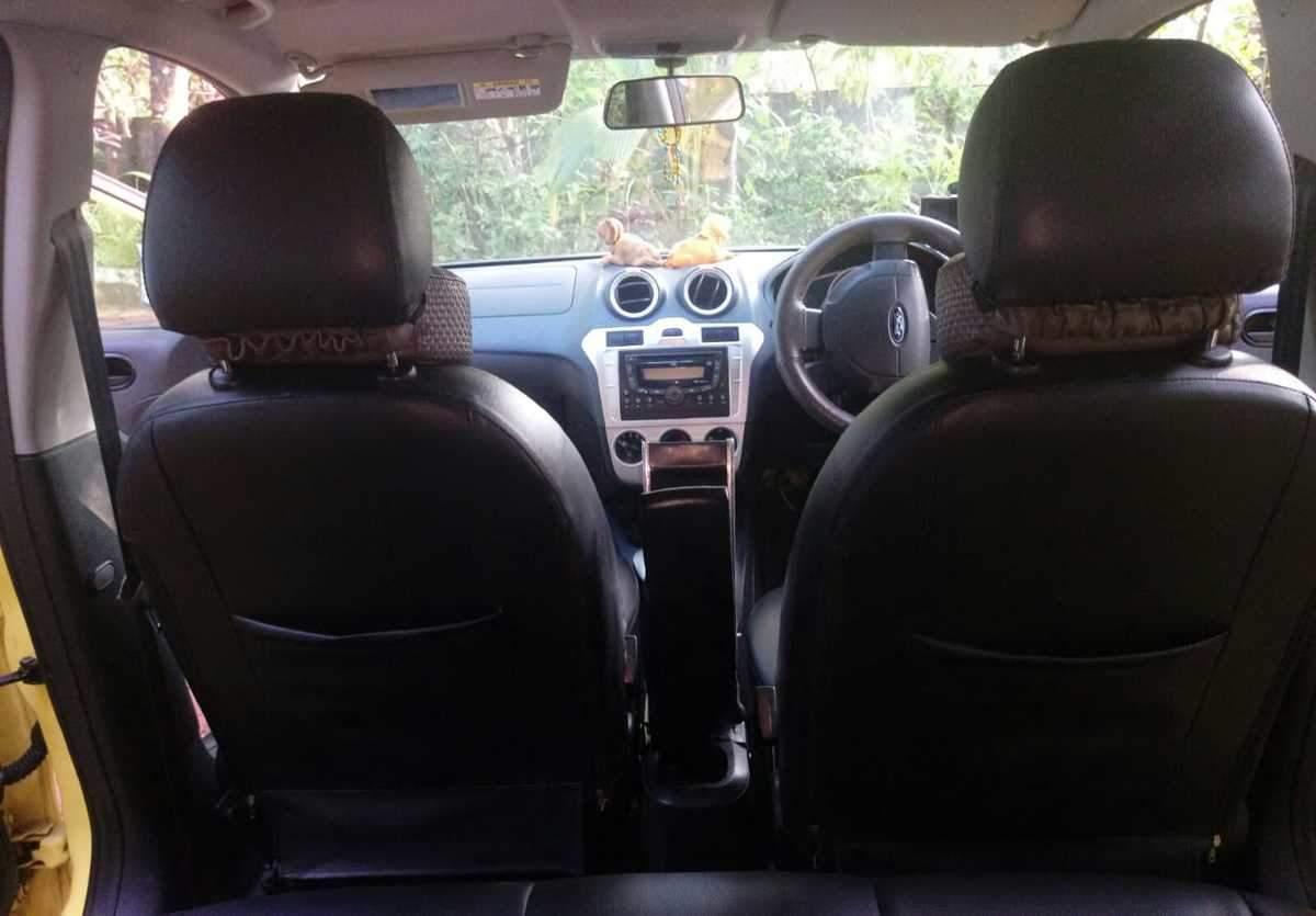 Ford Figo Rear Right Side Angle View